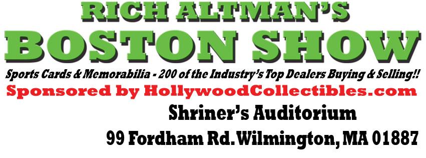 Card Show Rich Altman April 17 to 19, 2020